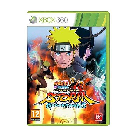 Jogo Naruto Shippuden: Ultimate Ninja Storm Generations - Xbox 360 (Europeu)