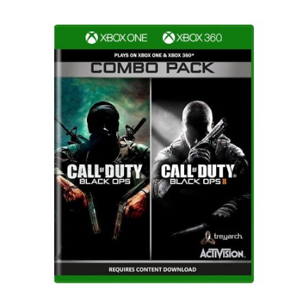 Jogo Call of Duty: Black Ops (Combo Pack) - Xbox One e Xbox 360