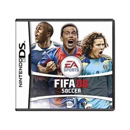 Jogo Fifa Soccer 08 - DS