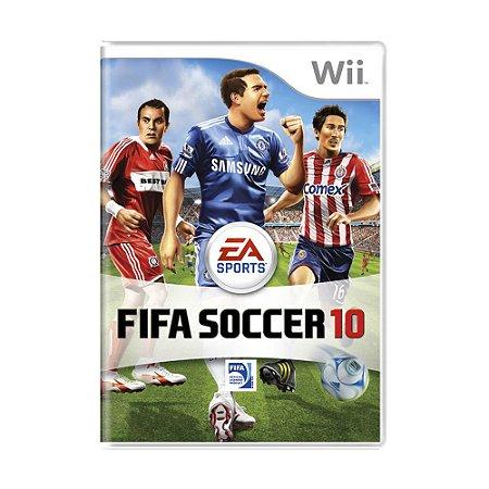 Jogo FIFA Soccer 10 - Wii