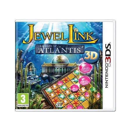 Jogo Jewel Link: Legends Of Atlantis 3D - 3DS (Europeu)
