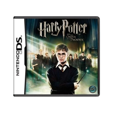 Jogo Harry Potter and the Order of the Phoenix - DS