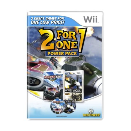 Jogo Indianapolis 500: Legends + WWII Aces (Power Pack) - Wii