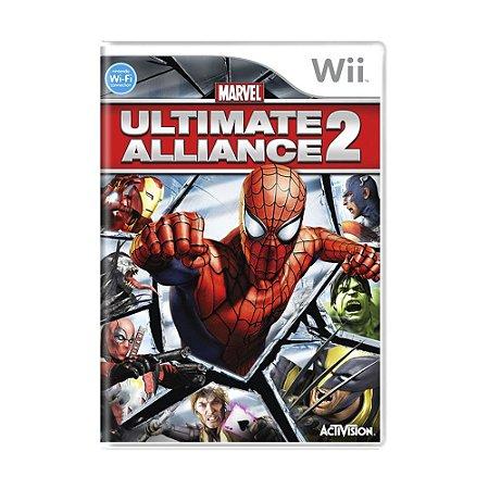 Jogo Marvel Ultimate Alliance 2 - Wii