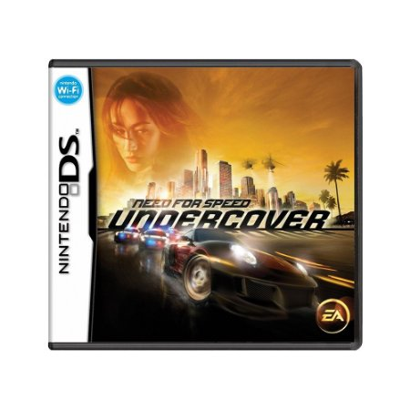 Jogo Need for Speed: Undercover - DS