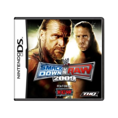 Jogo SmackDown vs. Raw 2009 - DS