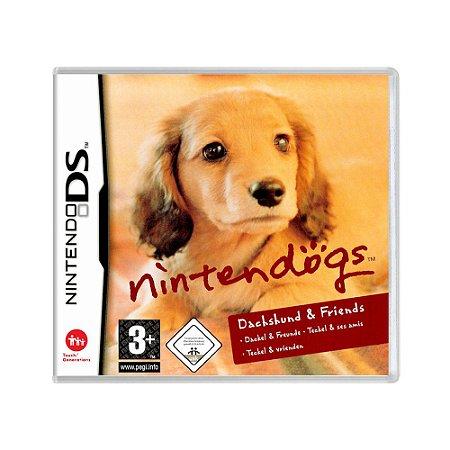 Jogo Nintendogs: Dachshund & Friends - DS (Europeu)