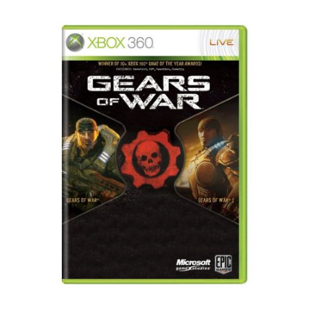 Jogo Gears of War + Gears of War 2 (Dual Pack) - Xbox 360