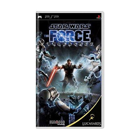 Jogo Star Wars: The Force Unleashed - PSP