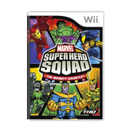 Jogo Marvel Super Hero Squad: The Infinity Gauntlet - Wii