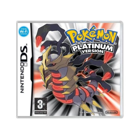 Jogo Pokémon Platinum Version - DS (Europeu)