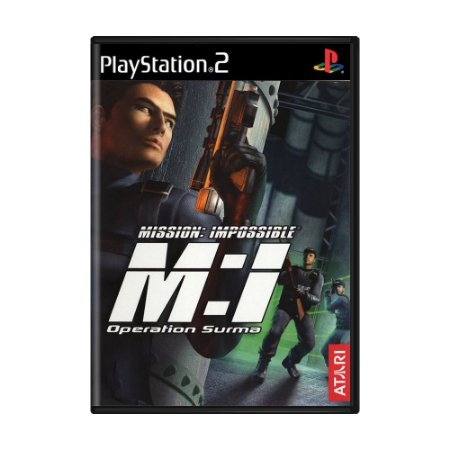 Jogo Mission: Impossible M:I Operation Surma - PS2