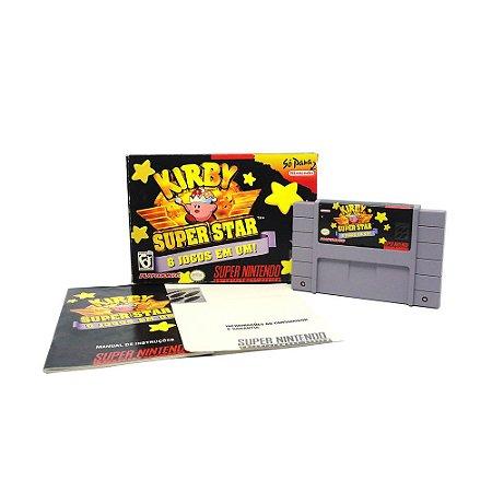 Jogo Kirby Super Star - SNES