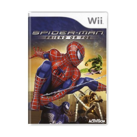 Jogo Spider-Man: Friend or Foe - Wii
