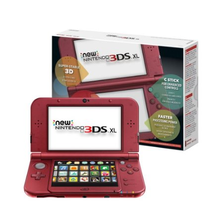 Console Nintendo New 3DS XL Bordô - Nintendo