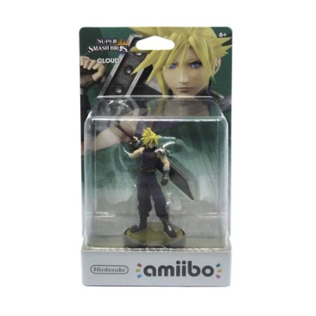 Nintendo Amiibo: Cloud Super Smash Bros - Wii U, New Nintendo 3DS e Switch