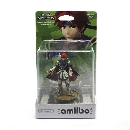 Nintendo Amiibo: Roy No. 55 Super Smash Bros - Wii U, New Nintendo 3DS e Switch