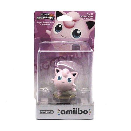 Nintendo Amiibo: Jigglypuff No. 37 Super Smash Bros - Wii U, New Nintendo 3DS e Switch