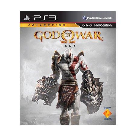 Jogo God of War: Saga (3 Jogos) - PS3 (Capa Dura)