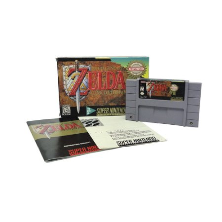 Jogo The Legend of Zelda: A Link to the Past - SNES