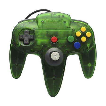 Controle Nintendo 64 Verde e Kiwi - Nintendo