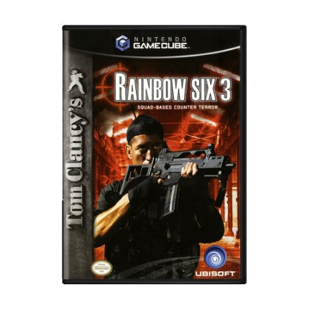 Jogo Tom Clancy's Rainbow Six 3 - GameCube