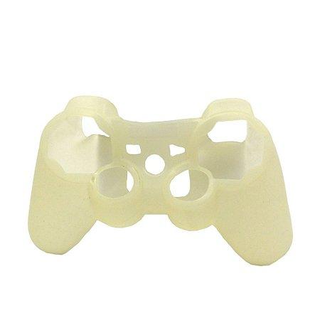 Capa de Silicone branca para Dualshock 3 - PS3