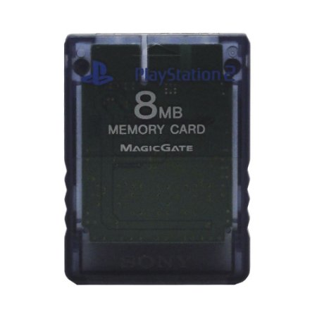 Memory Card Transparente - PS2
