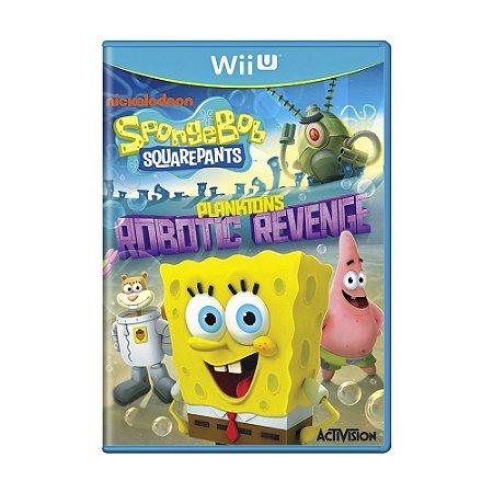 Jogo SpongeBob SquarePants: Plankton's Robotic Revenge - Wii U