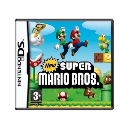 Jogo New Super Mario Bros. - DS (Europeu)
