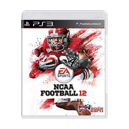 Jogo NCAA Football 12 - PS3