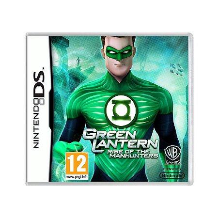 Jogo Green Lantern: Rise of the Manhunters - DS (Europeu)