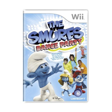 Jogo The Smurfs Dance Party - Wii