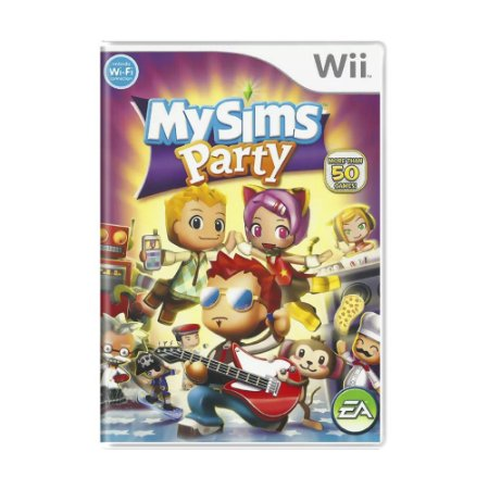 Jogo MySims Party - Wii