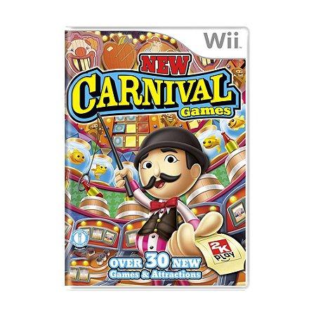 Jogo New Carnival Games - Wii