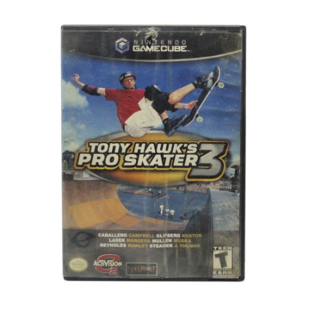 Jogo Tony Hawk's Pro Skater 3 - GameCube