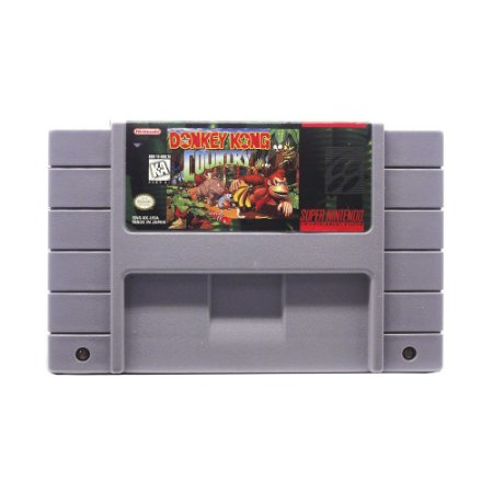 Jogo Donkey Kong Country - SNES
