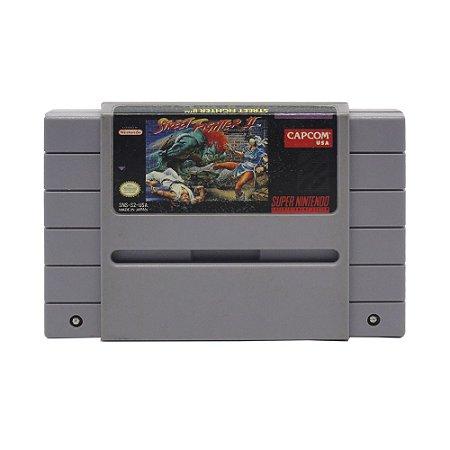 Jogo Street Fighter II: The World Warrior - SNES