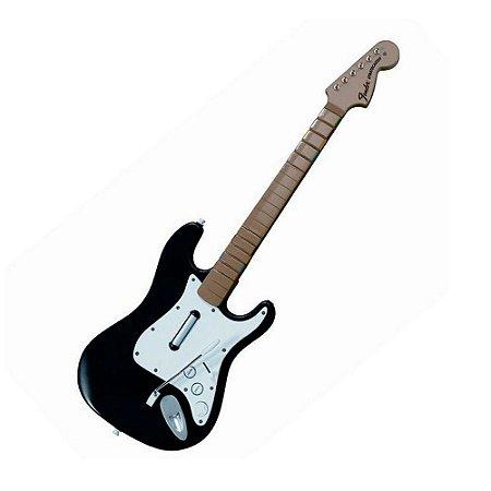 Guitarra Preta (Item para Decoração)