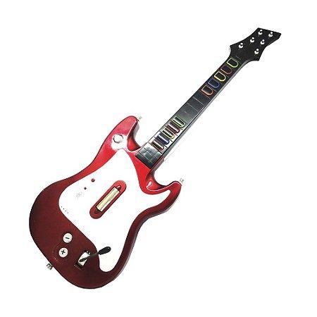 Guitarra Vermelha (Item para Decoração)
