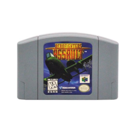 Jogo Aero Fighters Assault - N64
