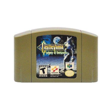Jogo Castlevania: Legacy of Darkness - N64