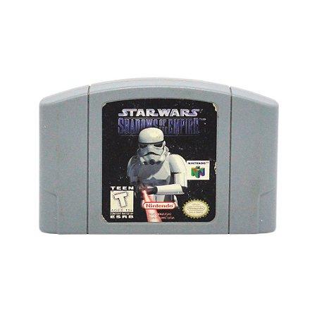 Jogo Star Wars: Shadow of the Empire - N64