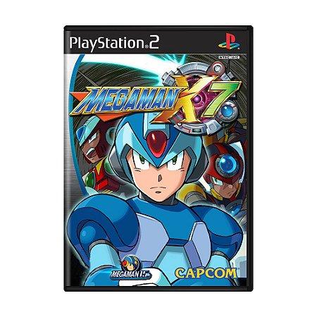 Jogo Mega Man X7 - PS2