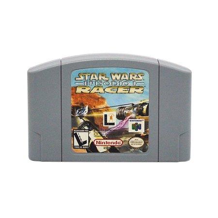 Jogo Star Wars: Episode I Racer - N64