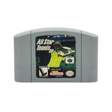Jogo All Star Tennis 99 - N64
