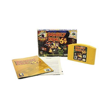 Jogo Donkey Kong 64 - N64