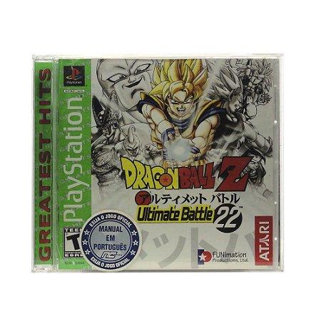 Jogo Dragon Ball Z: Ultimate Battle 22 - PS1
