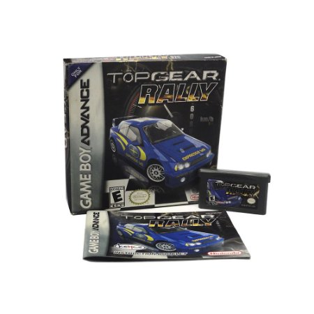 Jogo Top Gear Rally - GBA