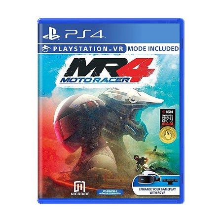 Jogo Moto Racer 4 - PS4